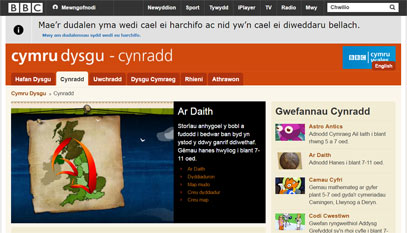 BBC Wales - learning - primary